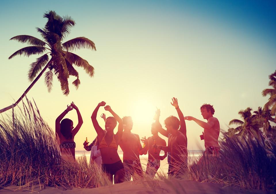 Žurka na plaži