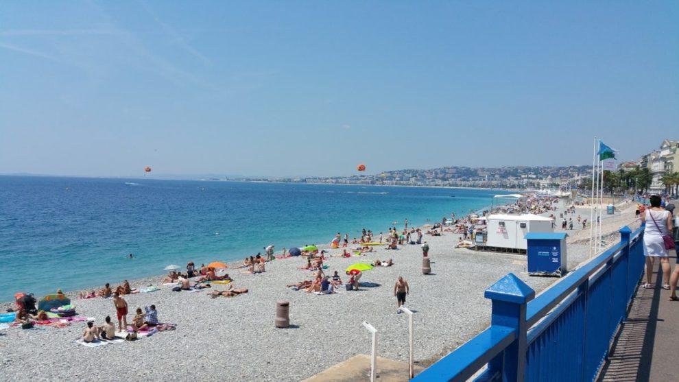 Plaža u Nici, Francuska