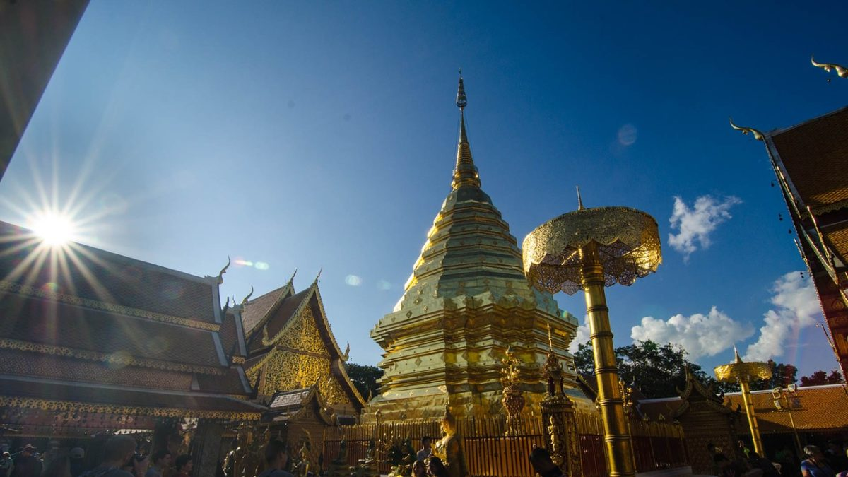 Doi Suthep hram u provinciji Chiang Mai