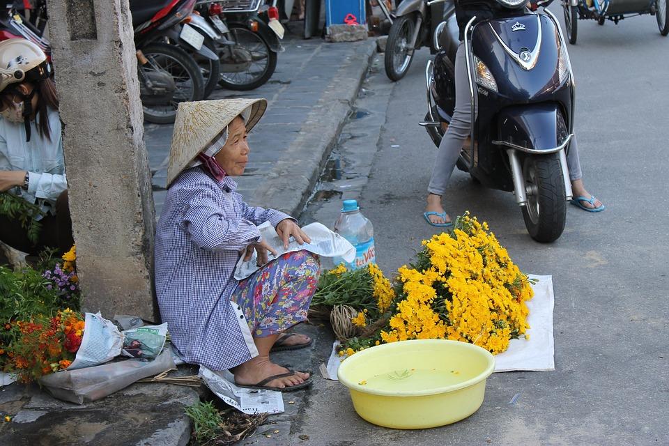 Ulična prodavačica u Hoj Anu