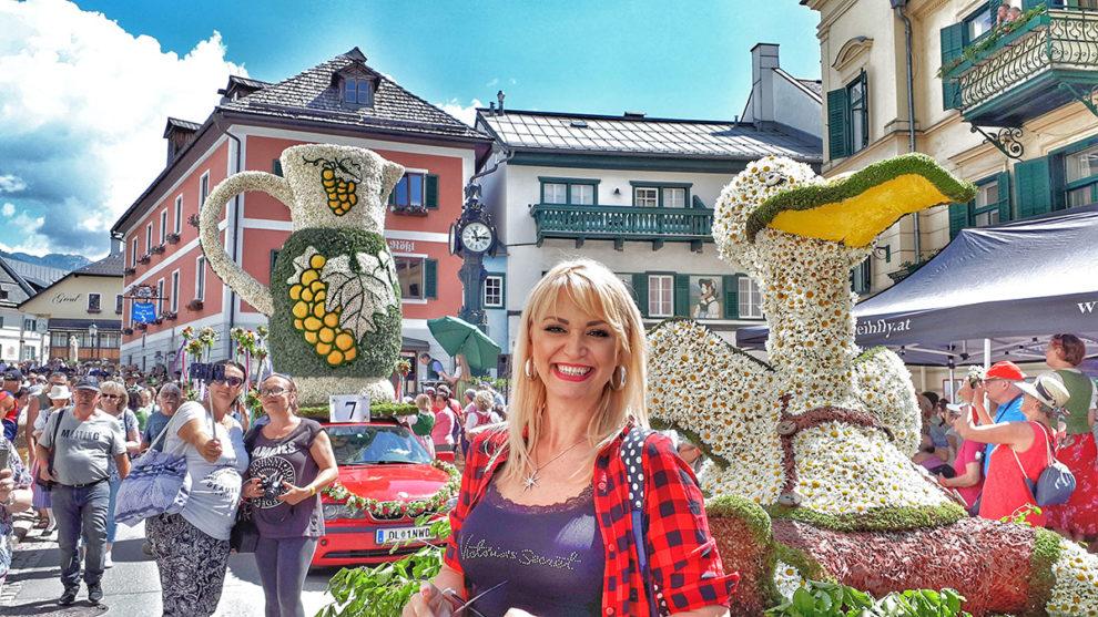 Ivana Đorđević, slike - u Halštatu, Austrija