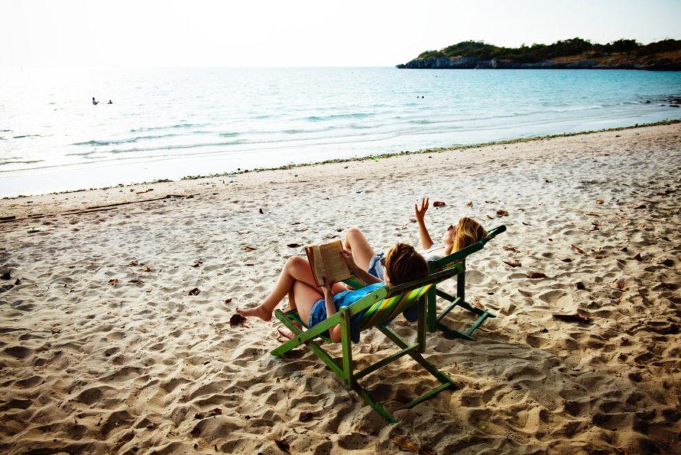 Plaža, knjiga