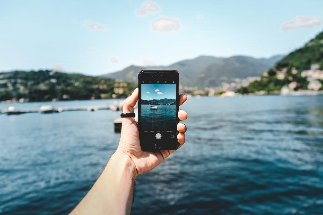 Mobilni, slikanje