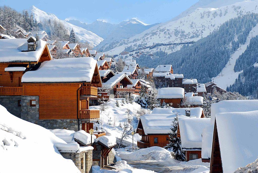 Ski centar Meribel, Francuska