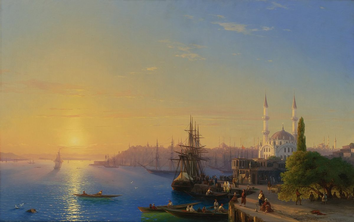 Istanbul iz Osmanskog perioda, autora Ivana Ajvazoskog
