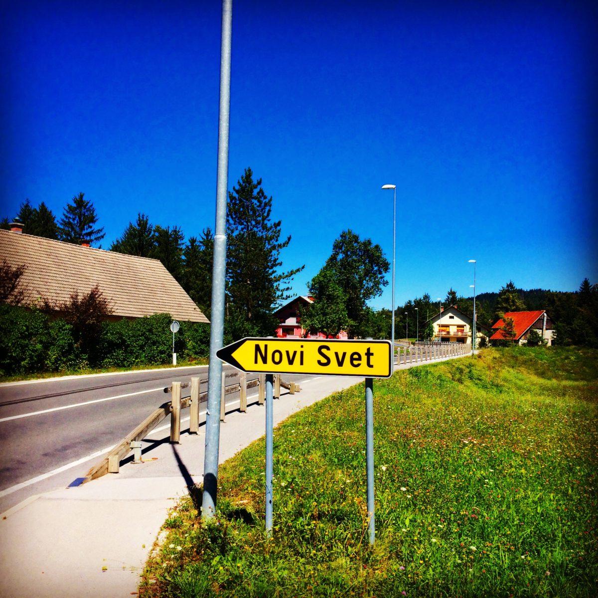 """Novi Svet, Slovenija """"Valja putovati"""" mi se čini kao jedini slogan ispod kojeg bih stao - kaže Prelević"""