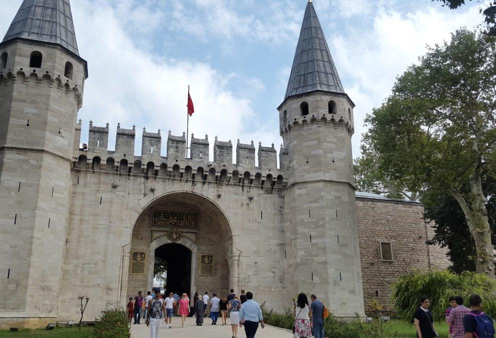 Glavni ulaz u Topkapi palatu, Istanbul