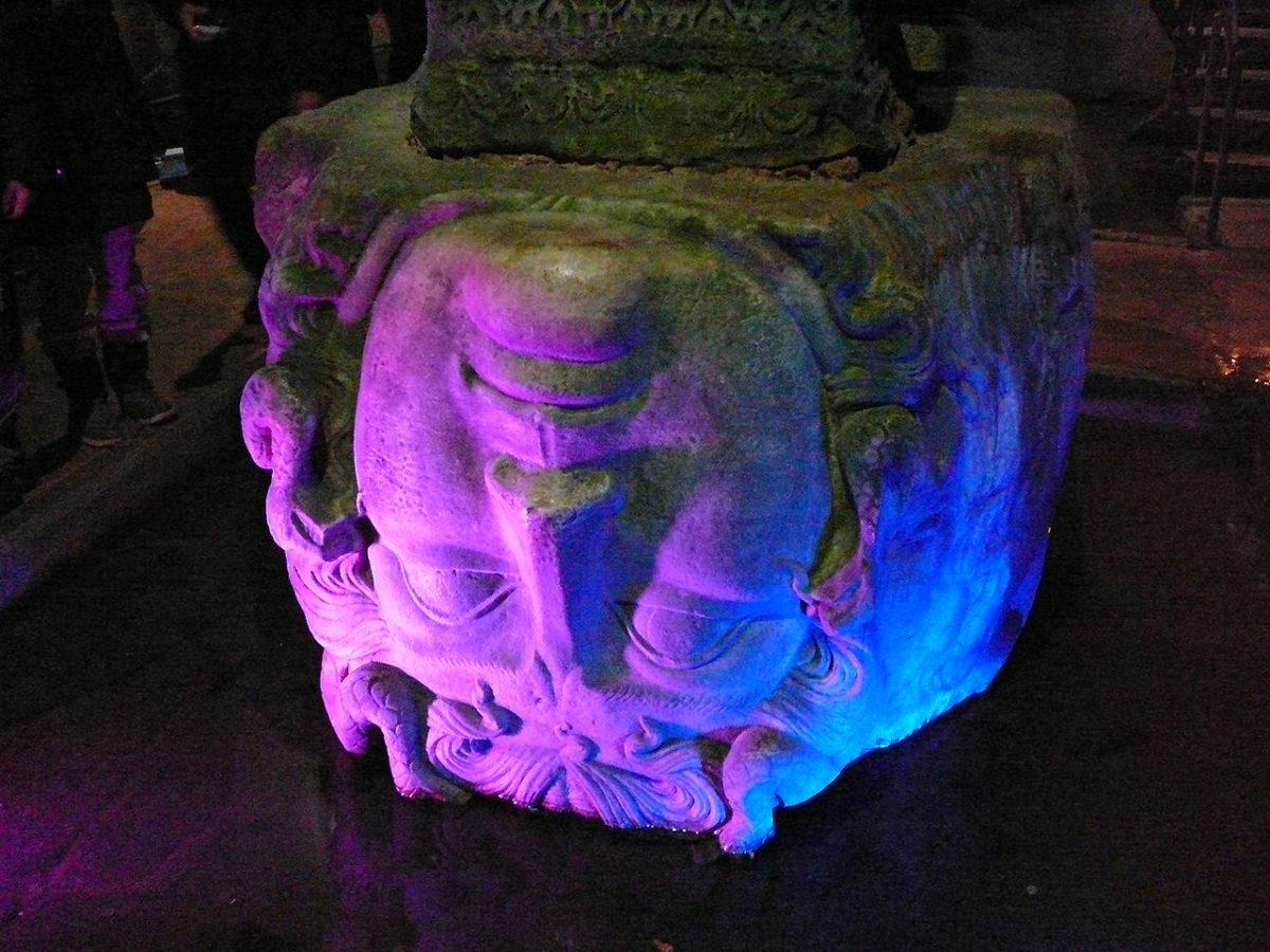 Ova glava grčke meduze je sve što je ostalo od drevnog grada Vizantiona