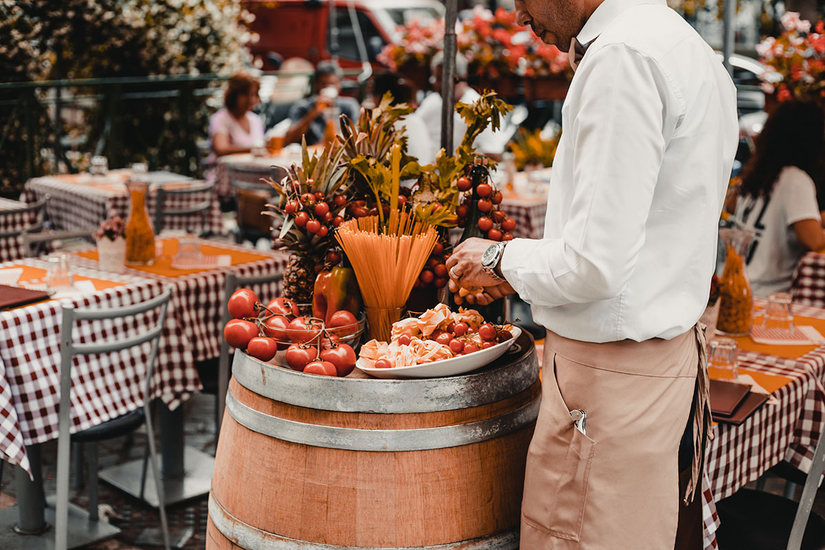 Italijanski proizvodi koji se prodaju na ulici