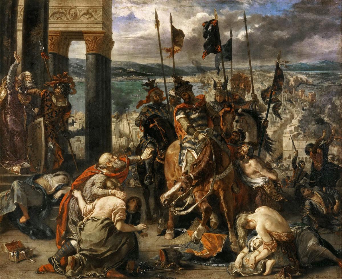 Pad Konstantinopolja, Ežen Delakroa