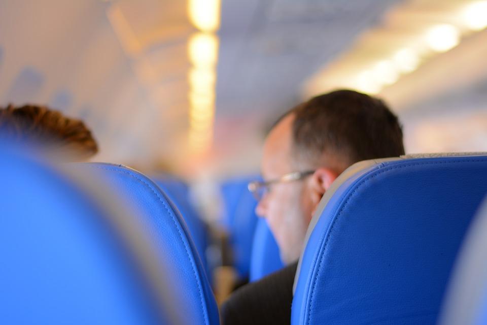 Avion, putnici