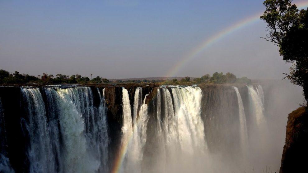 Viktorijini vodopadi, Zimbabve