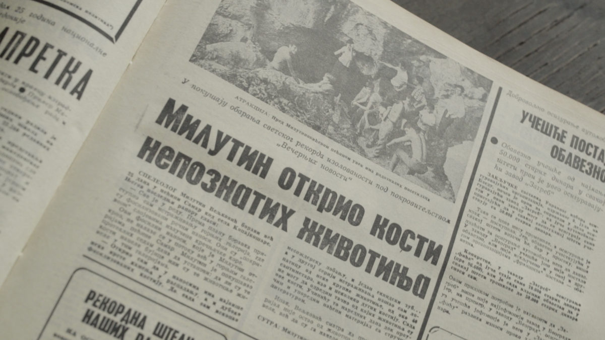 Tadašnje novine su pratile Veljkovićev eksperiment i o njemu redovno izveštavale