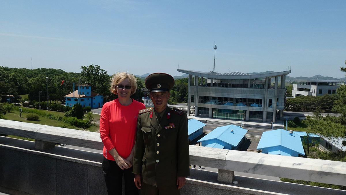 Severna Koreja granica sa Južnom Korejom, foto: Snežana Radojičić