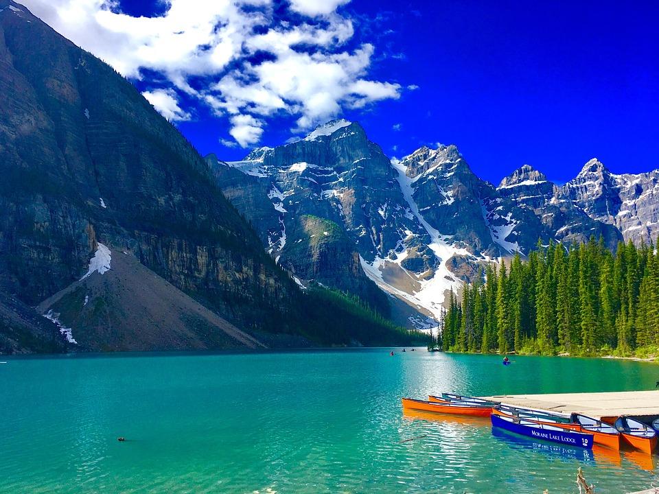 Jezero Moren, Kanada