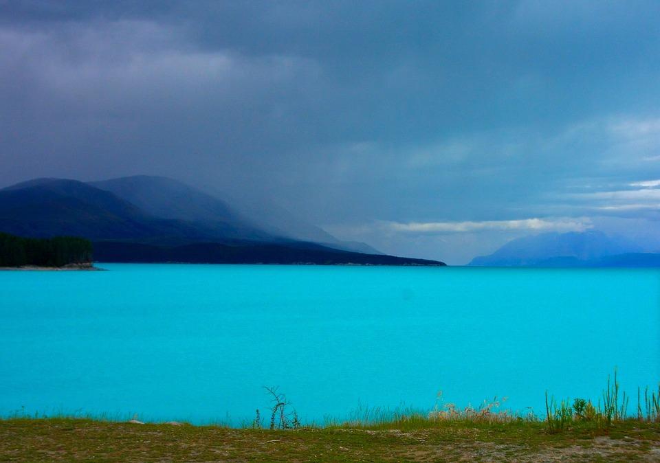 Jezero Pukaki, Novi Zeland