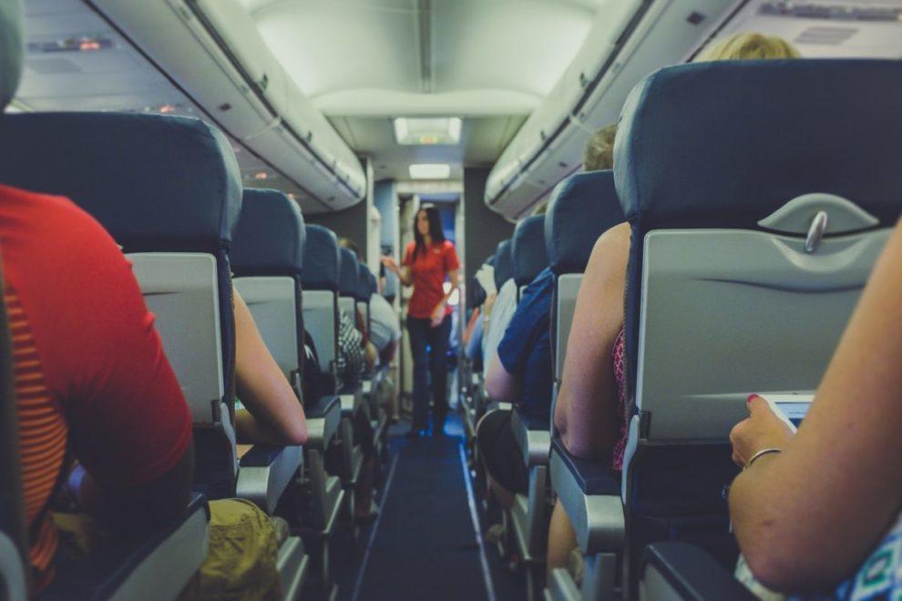 Avion, stjuardesa
