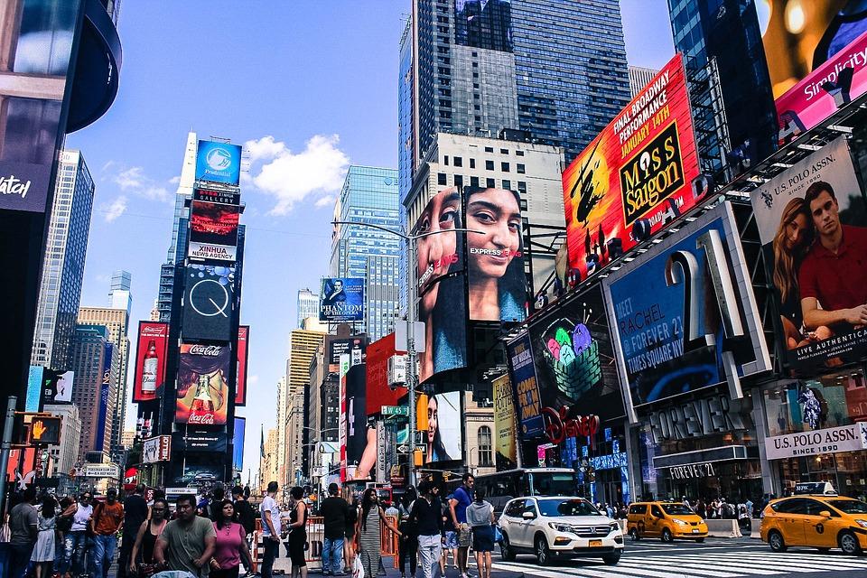 Njujork, Tajms skver