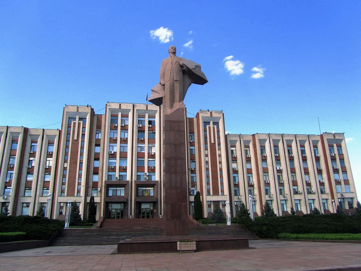Statua Lenjina, Tiraspolj, Pridnestrovlje (Vasko Lukinić)