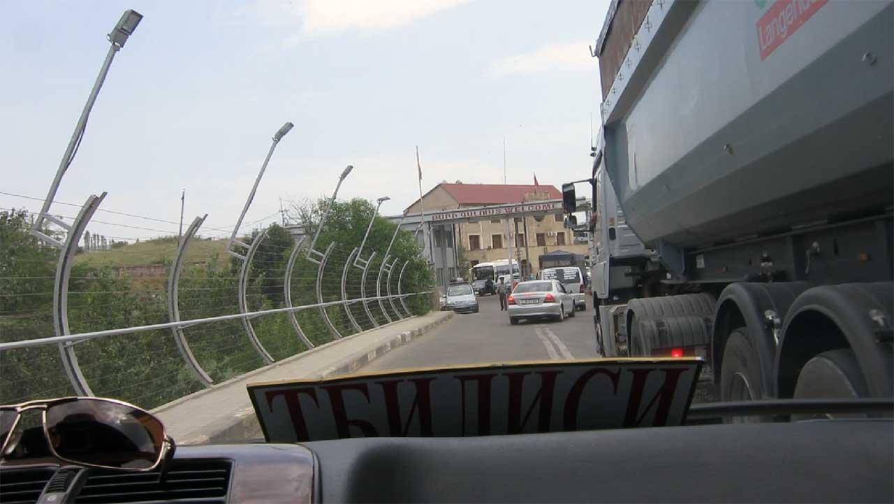 Gruzijsko-jermenska granica, foto: Uroš Nedeljković