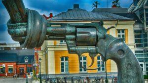 Spomenik protiv nasilja u Malmeu u Švedskoj