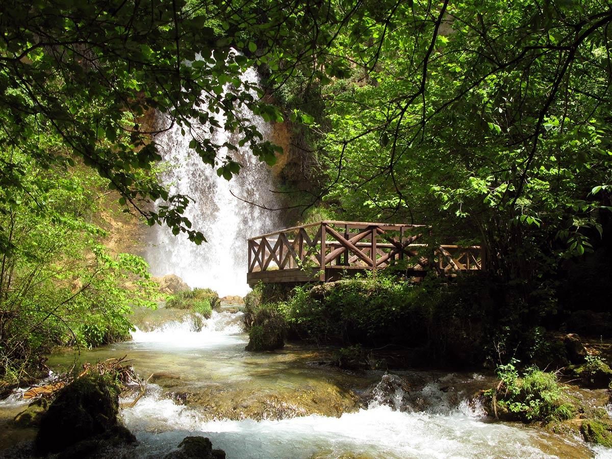 Vodopad Veliki buk, Lisine - foto: Uroš Nedeljković
