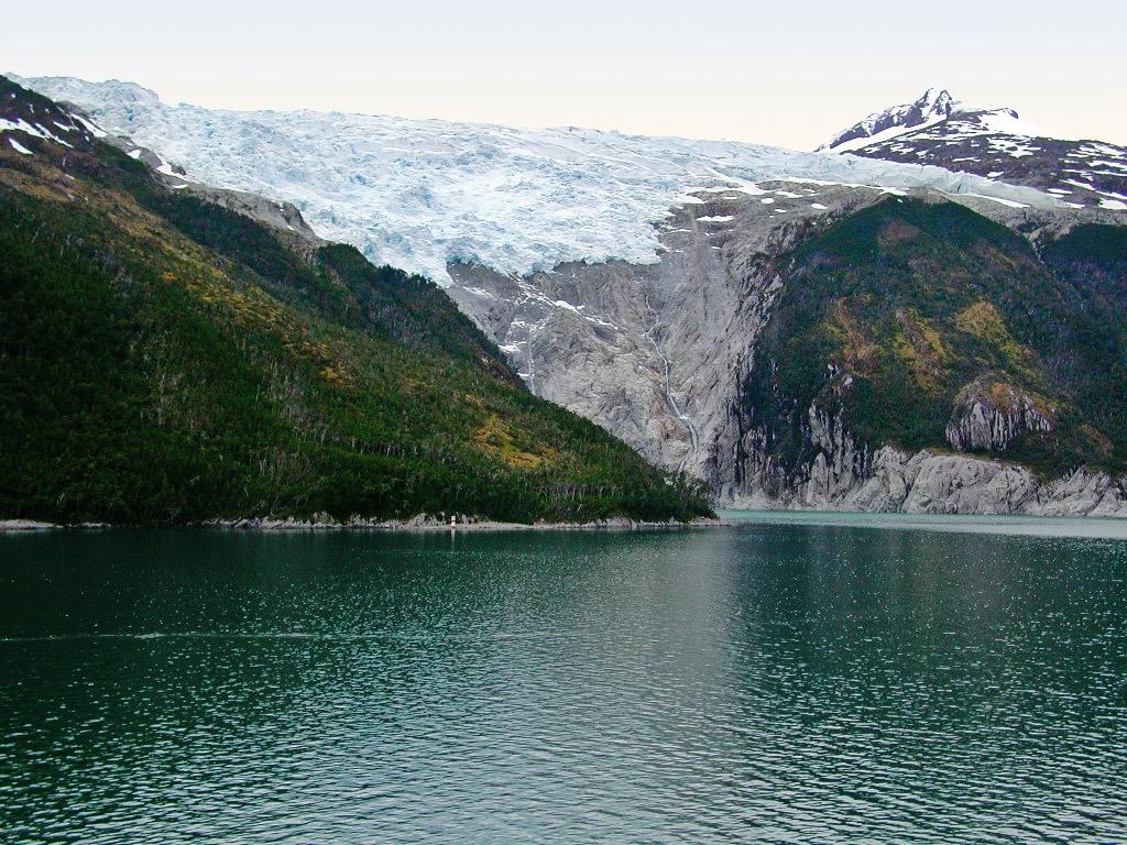 Glečer, Bigl kanal, Čile