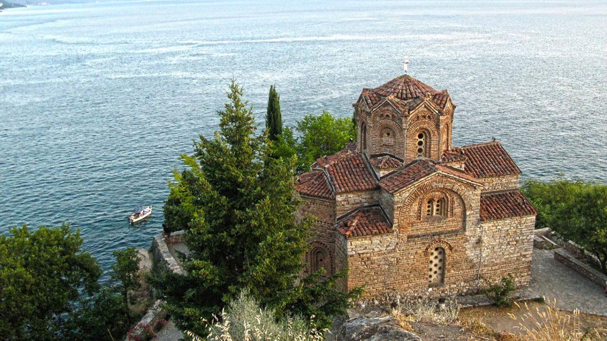 Crkva Sveti Jovan Kaneo na Ohridskom jezeru