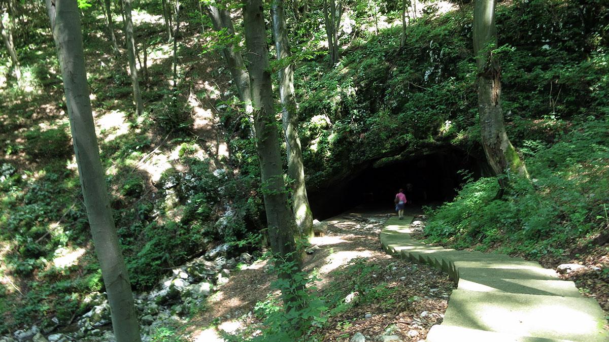 Ulaz u pećinu Ceremošnja kod Kučeva