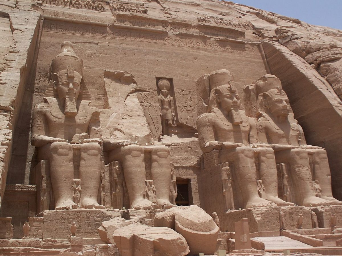 Abu Simbel, Egipat, hram