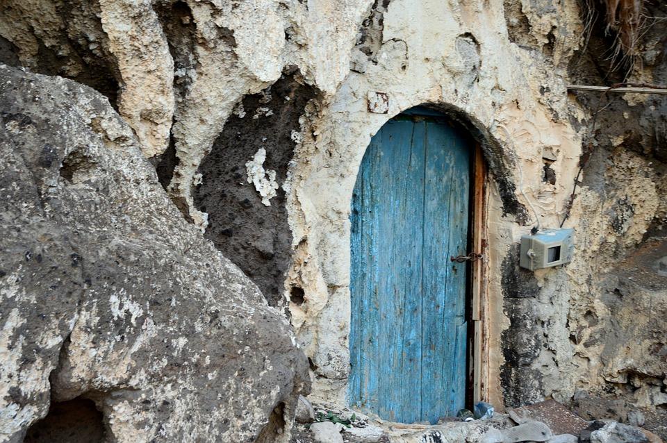 Santorini plava vrata