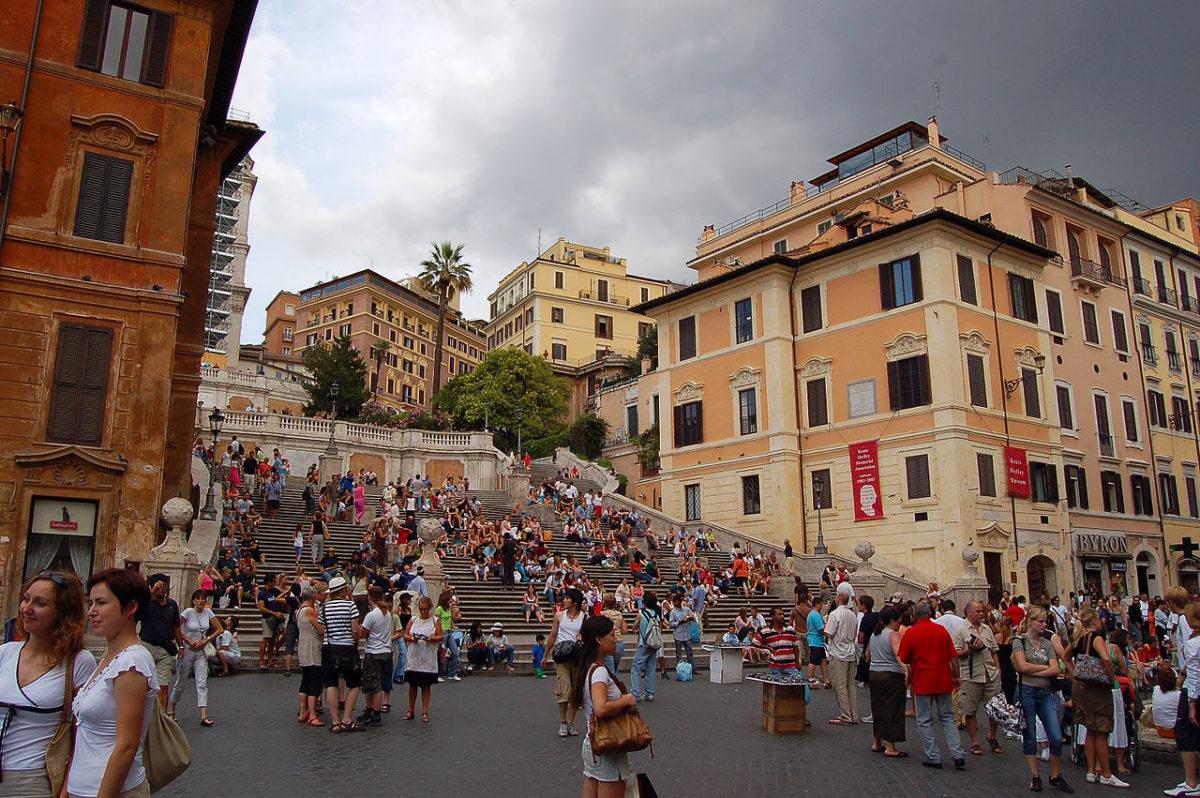 Španske stepenice, Rim