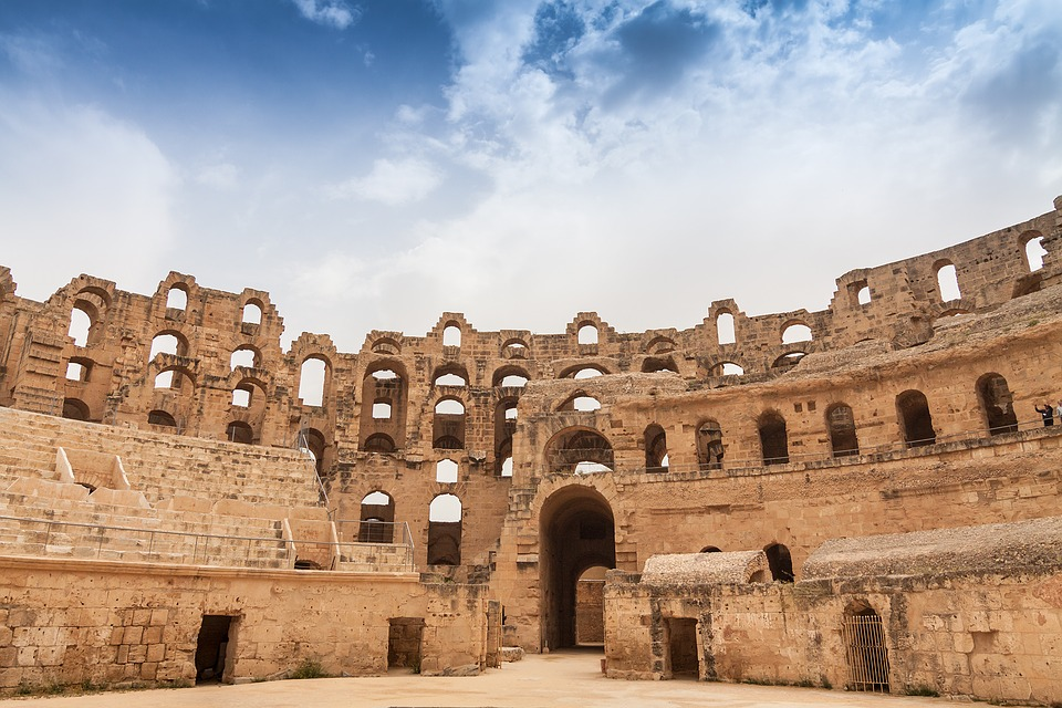 antički amfiteatar El Džem, Tunis
