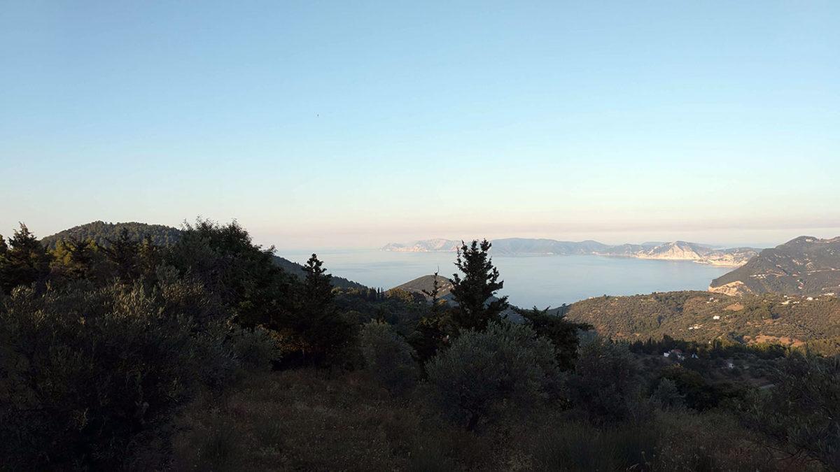 Pogled s vrha Skopelosa