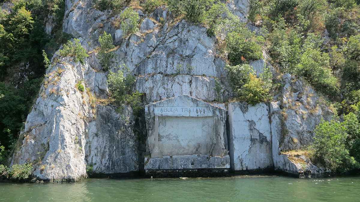 Tabula Triana sa Dunava, foto: Uroš Nedeljković