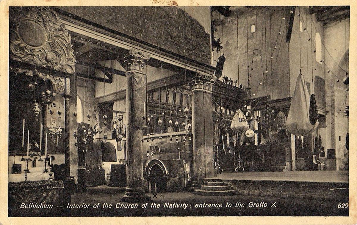 Crkva Isusovog rođenja dvadesetih godina 20. veka
