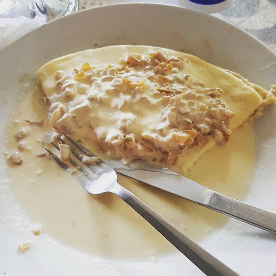 Quesillo - tortilja sa sirom prelivena pavlakom, koja nikako ne može da bude loš izbor u Nikaragvi, foto: Marina Ilijević