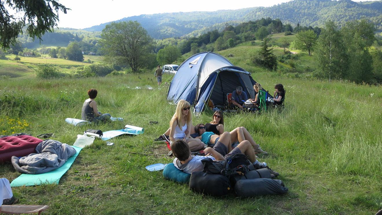 Dobro postavite šator i nemate brige, foto: Uroš Nedeljković