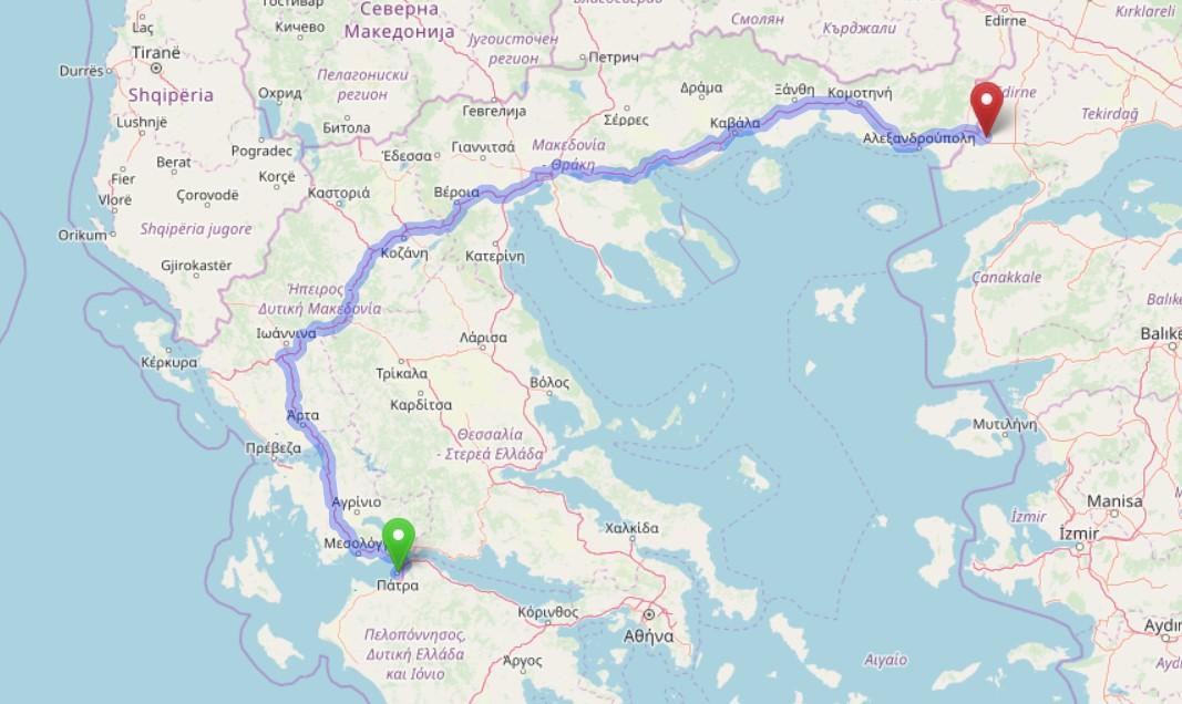 Planirana mreža brzih elektro punjača u Grčkoj