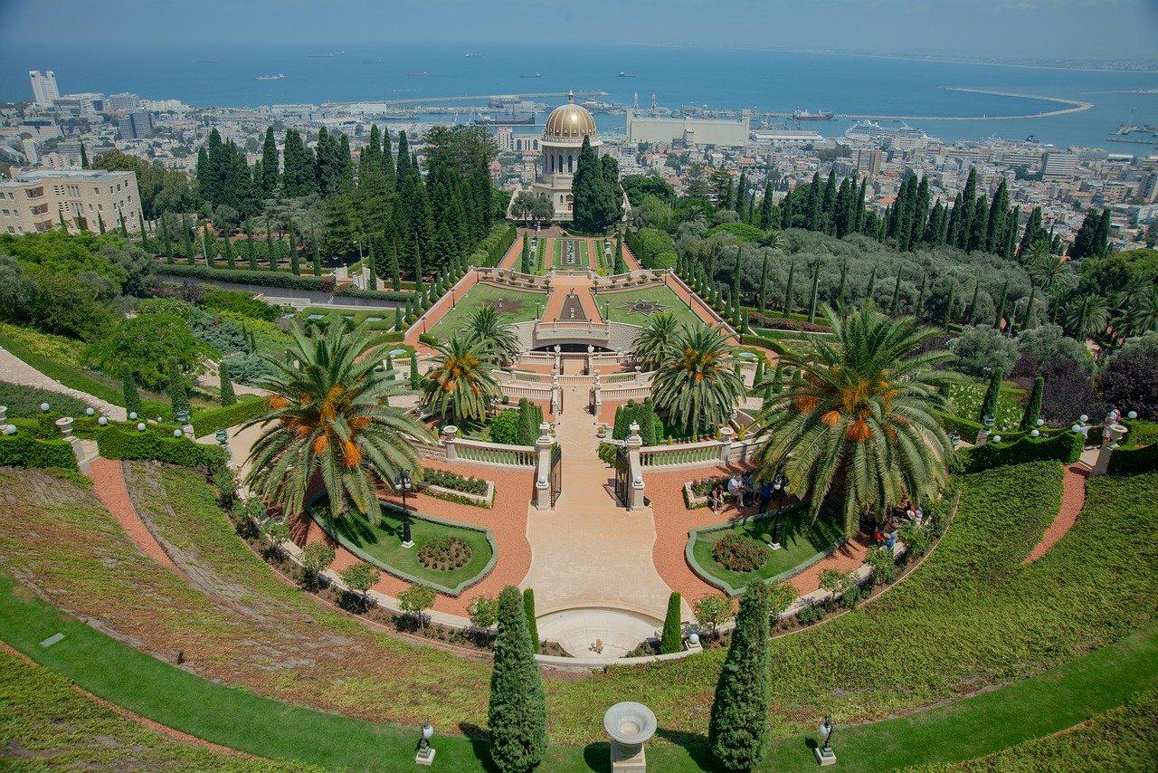 Bahajski vrtovi, Haifa, Izrael