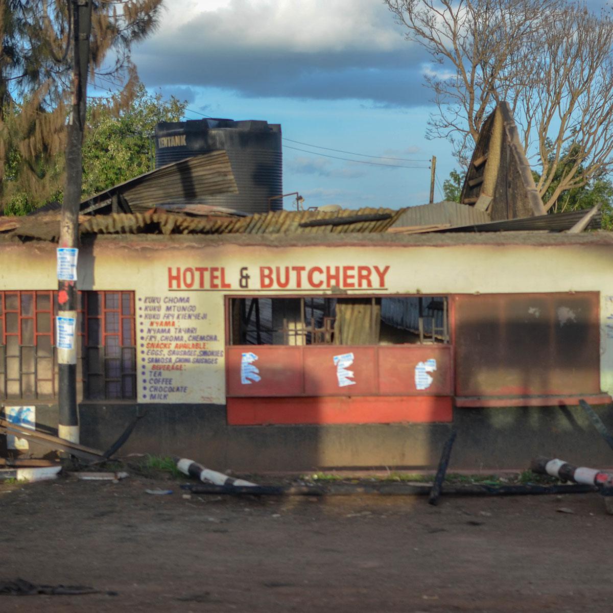 Hotel i mesara u Keniji, foto: Uroš Janić