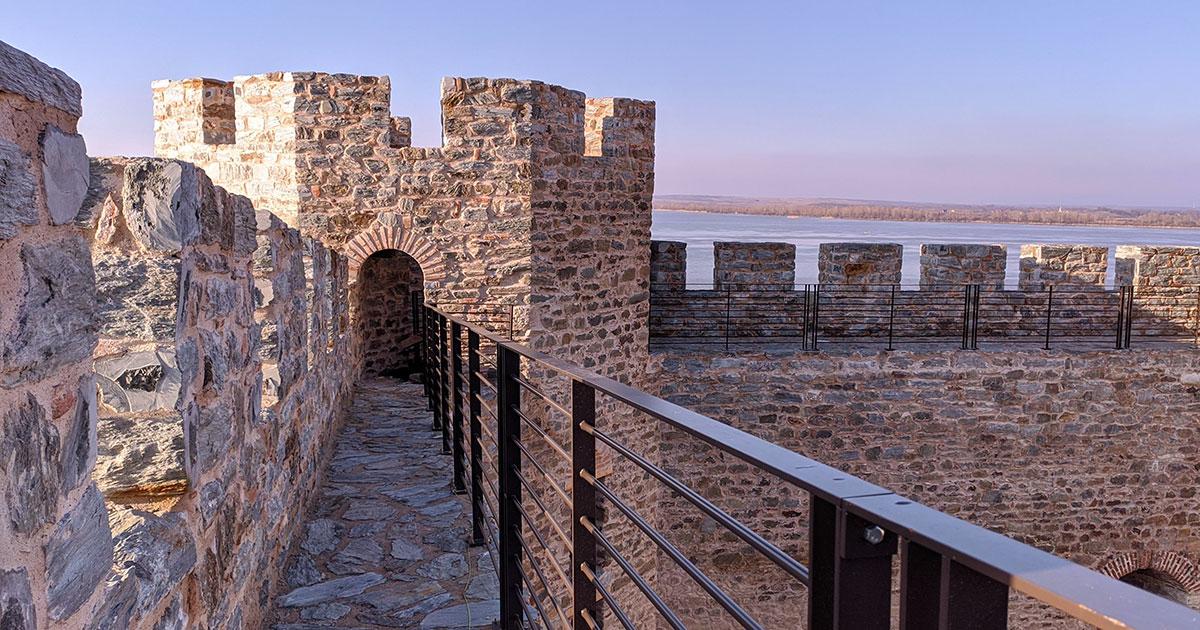 Danas tvrđava Ram izgleda potpuno drugačije, foto: Uroš Nedeljković