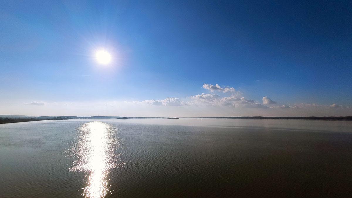 Pogled na Dunav koji je širok 5 kilometara, foto: Uroš Nedeljković