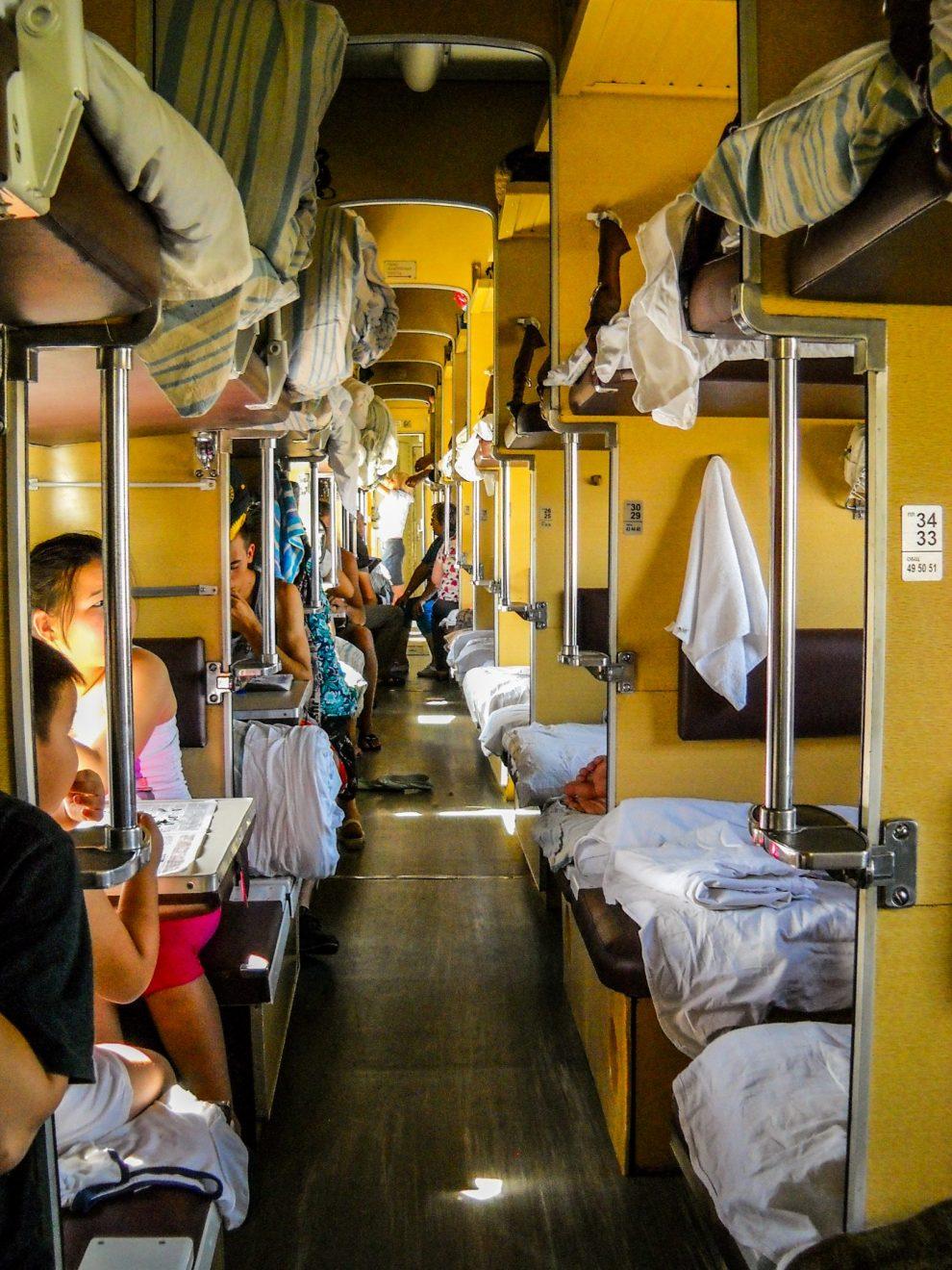 Plackartni - transibirski voz
