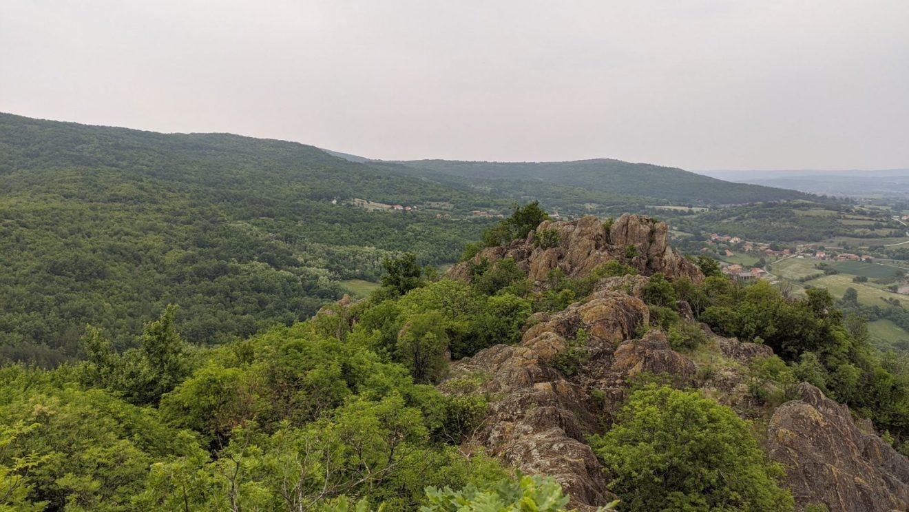 Pogled sa Boračkog krša na kome se nekada nalazio srednjovekovni grad, foto: Uroš Nedeljković