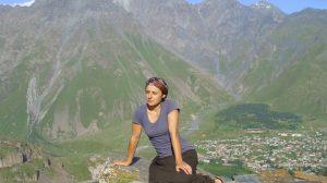Jelena Raketić, Kazbegi, Gruzija