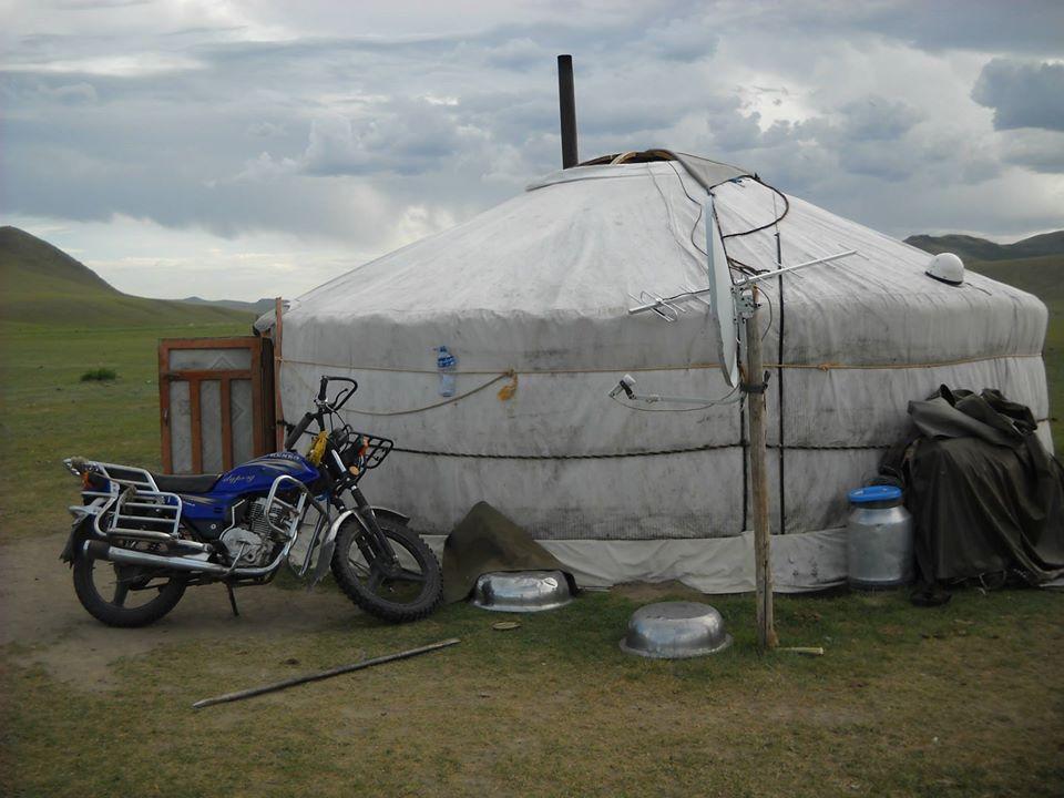 Spavanje u jurti u Mongoliji