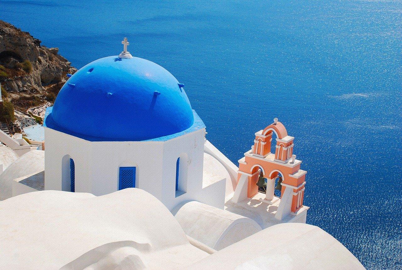 Grčka, Santorini