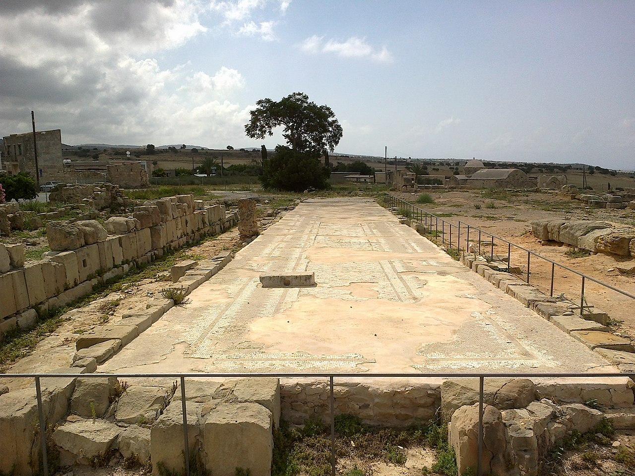 Afroditin hram, Pafos, Kipar
