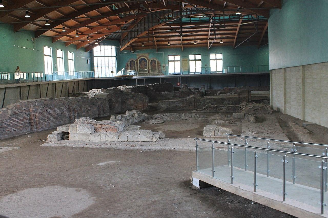Carska palata Sirmijuma natkrivena je pre deset godina, foto: Vanilica / Wikimedia